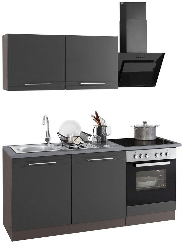 ddd21b1dd1d612 HELD MÖBEL Küchenzeile mit E-Geräten
