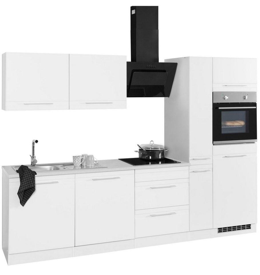 Wiho Küchen Küchenzeile Aachen Ohne E Geräte Breite 290 Cm Online