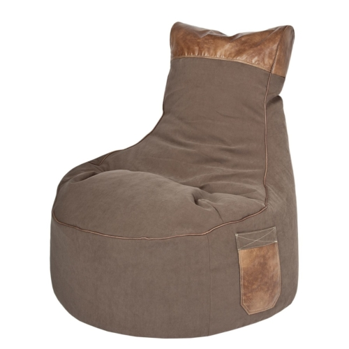 Sitzsack Fluffy Stars Webstoff 110 Grau Sitting Point Online