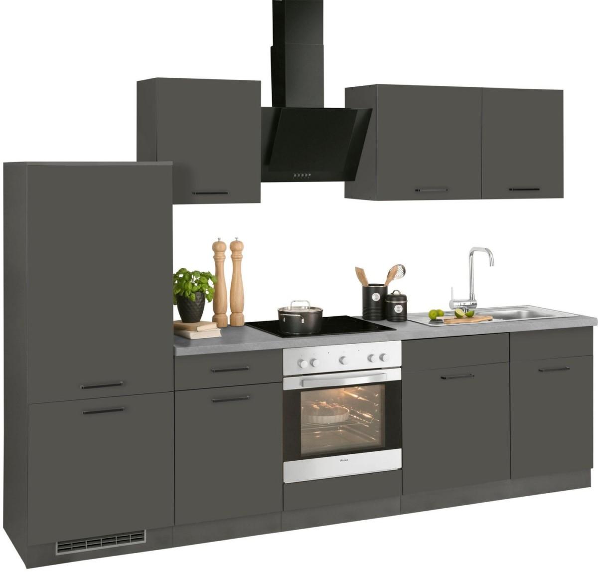 Wiho Kuchen Kuchenzeile Esbo Ohne E Gerate Breite 280 Cm Online