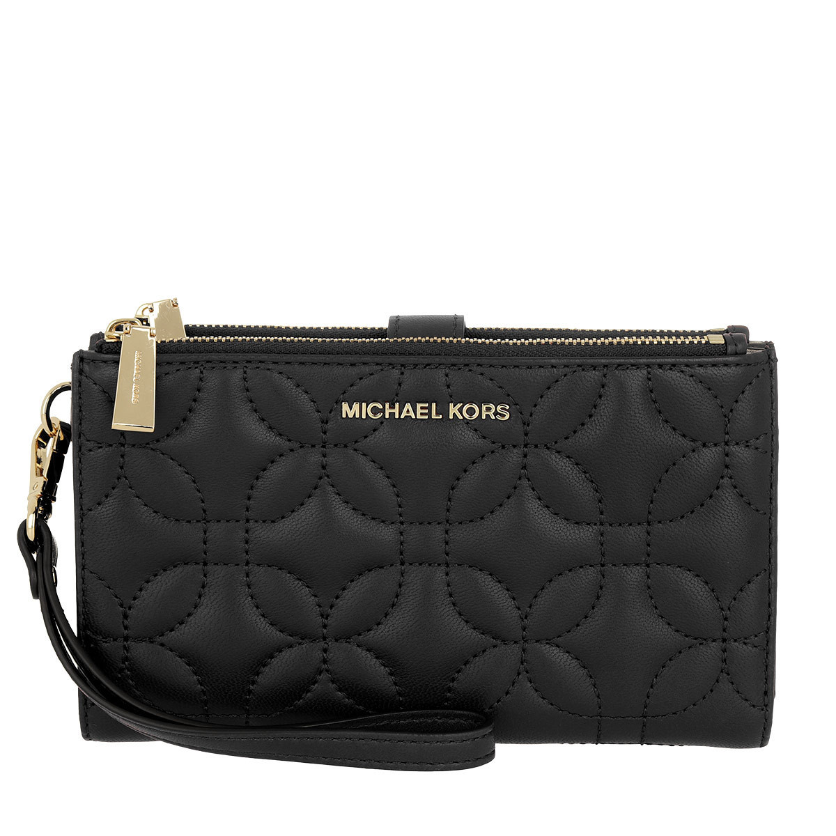 michael kors portemonnaie wristlet doublezip wallet. Black Bedroom Furniture Sets. Home Design Ideas