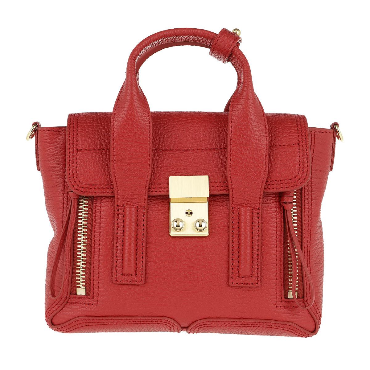 3.1 Phillip Lim Satchel Bag - Pashli Mini Satchel Red - in rot - für Damen