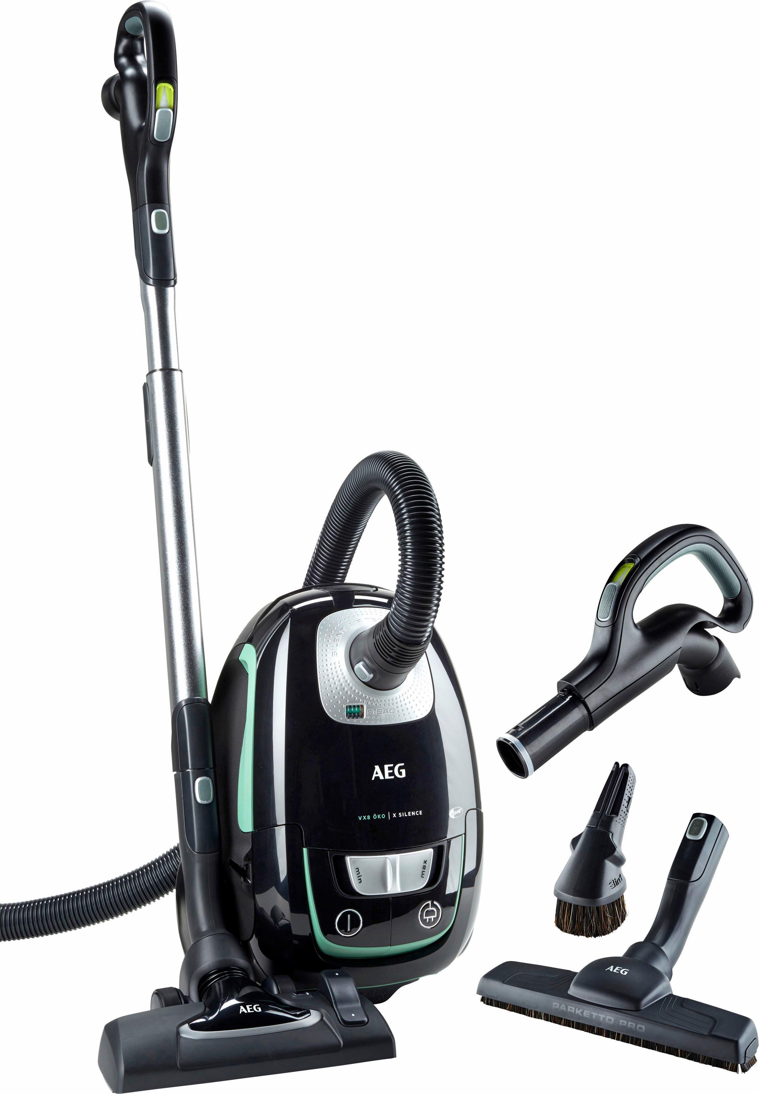 AEG Bodenstaubsauger VX8-1-Öko 700 Watt mit Beutel