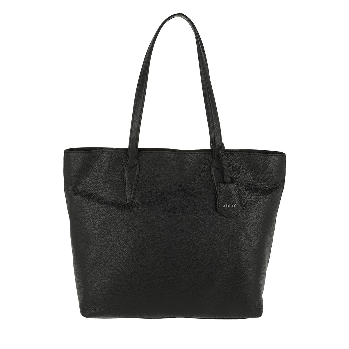Abro Shopper - Calf Adria Shopper Black/Nickel - in schwarz - für Damen