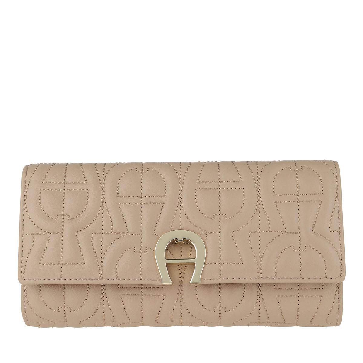 Aigner Portemonnaie - Genoveva Wallet Nougat - in beige - für Damen