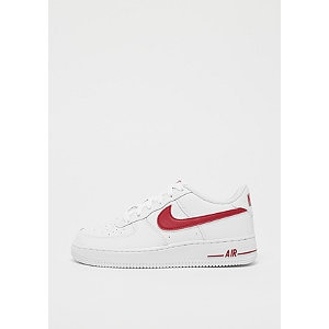Air Force 1 '07 3 white/gym red