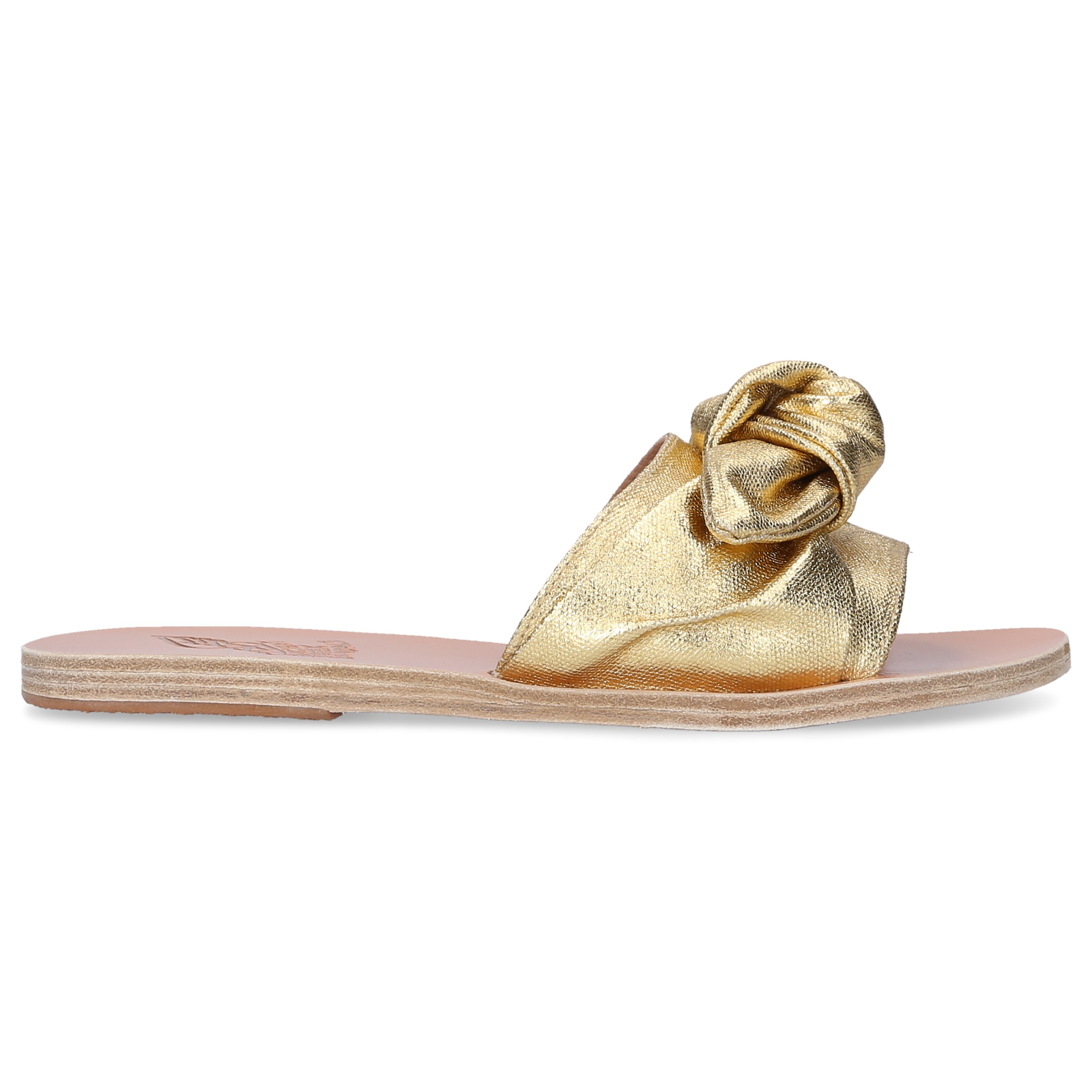 Ancient Greek Sandals Sandalen TAYGETE Kalbsleder gold