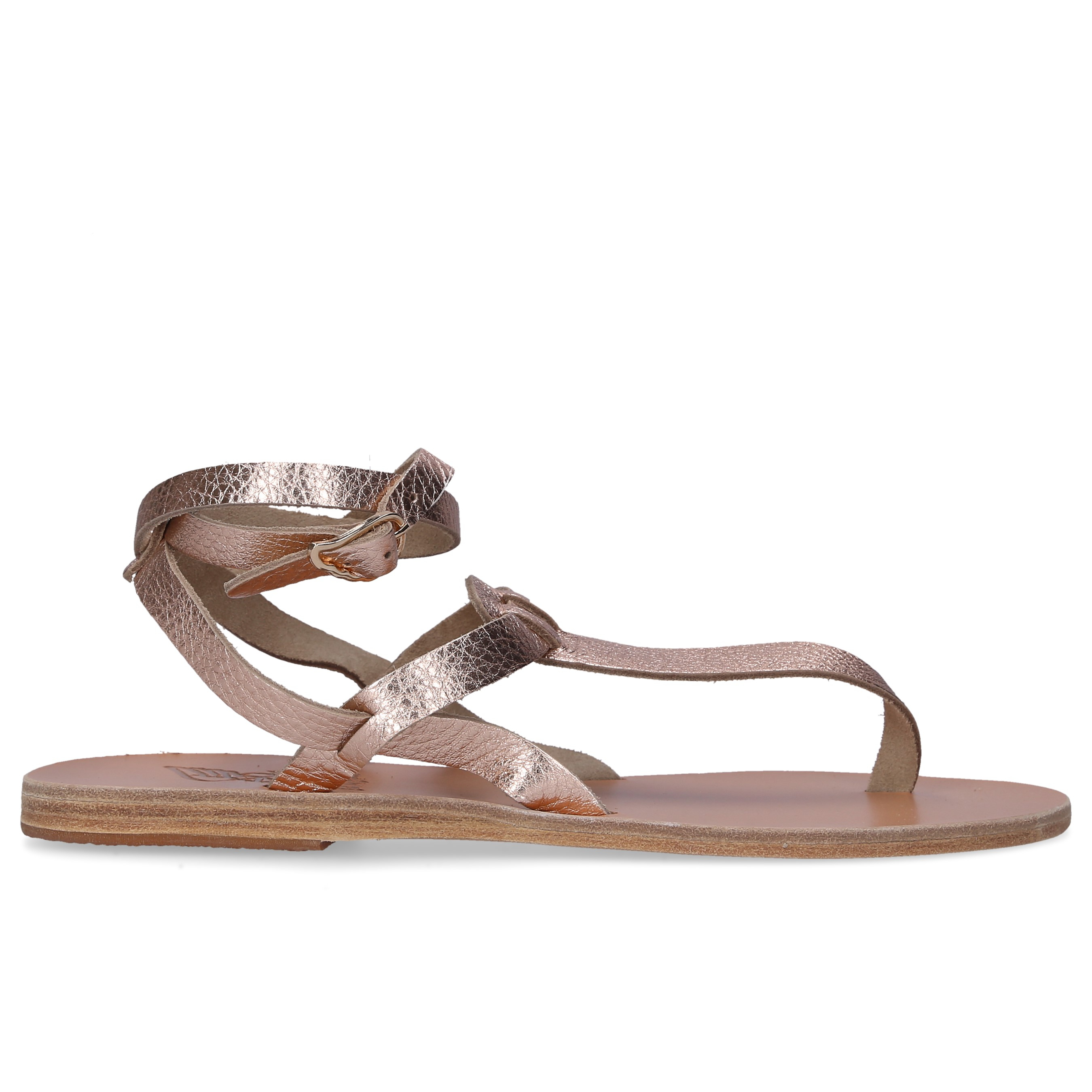 Ancient Greek Sandals Zehentrenner ESTIA Kalbsleder rosé