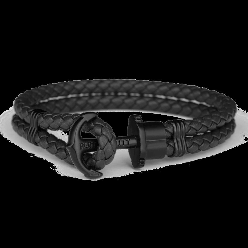 Ankerarmband PHREP IP Schwarz Schwarz