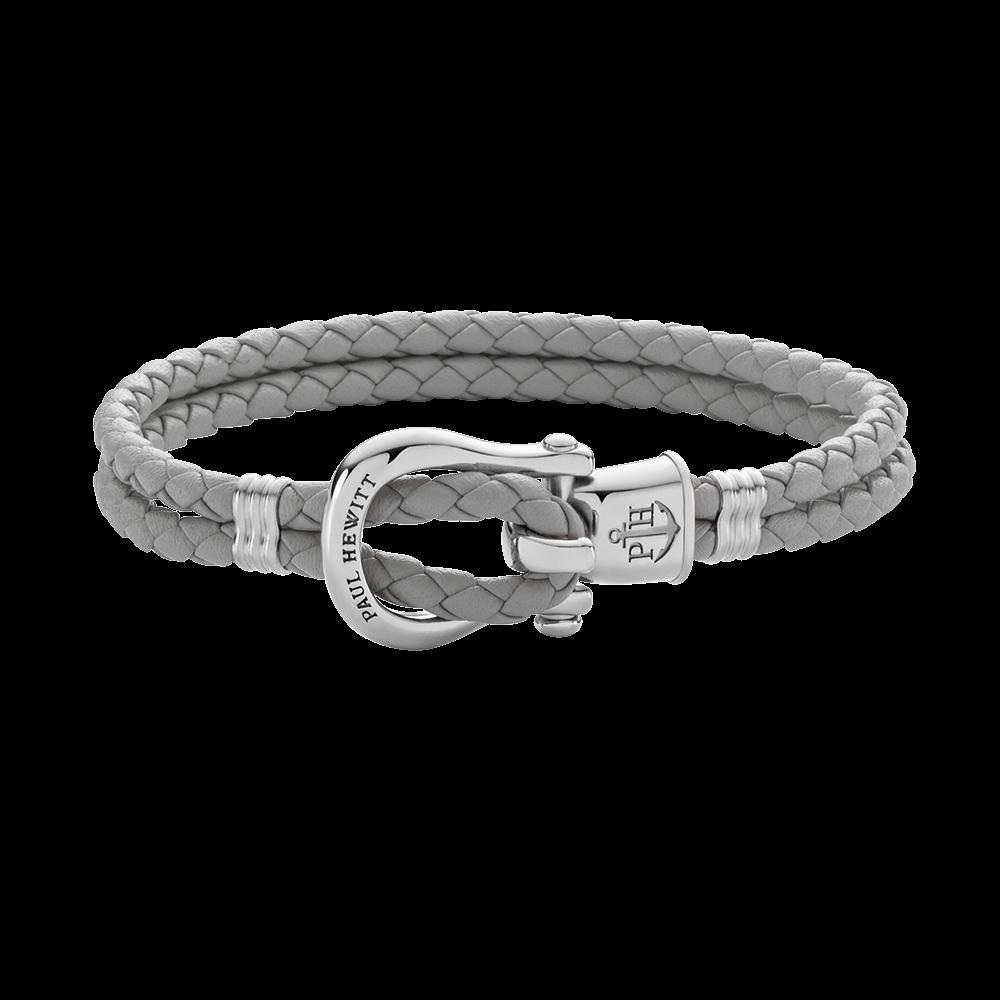 Armband PHINITY Edelstahl Grau