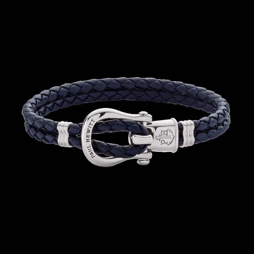 Armband PHINITY Edelstahl Marineblau
