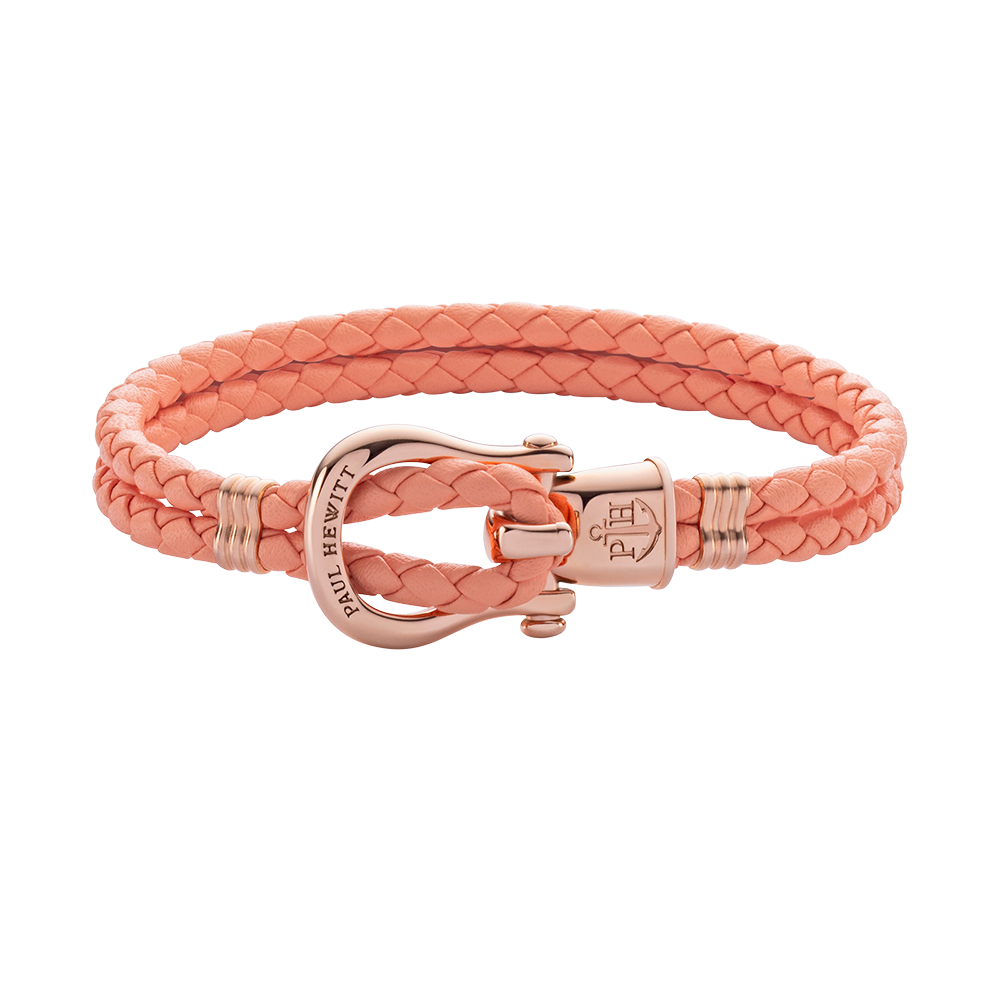Armband PHINITY IP Roségold Apricot