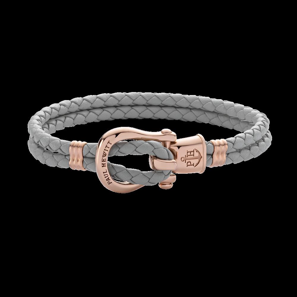 Armband PHINITY IP Roségold Grau
