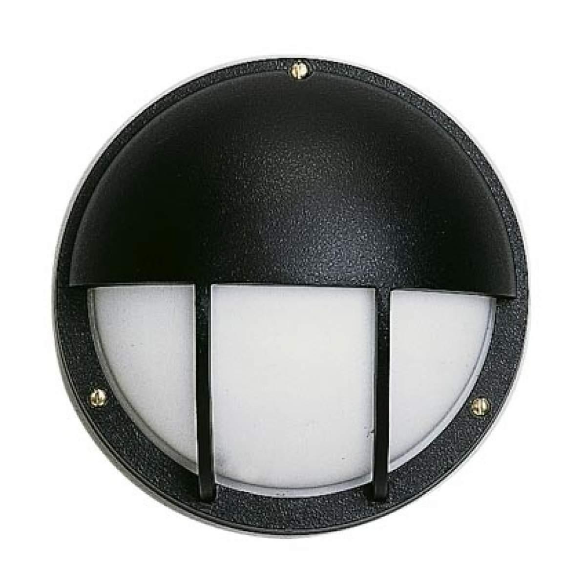 Außen-Wandleuchte 307, schwarz, E27