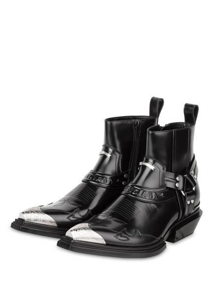Balenciaga Boots schwarz