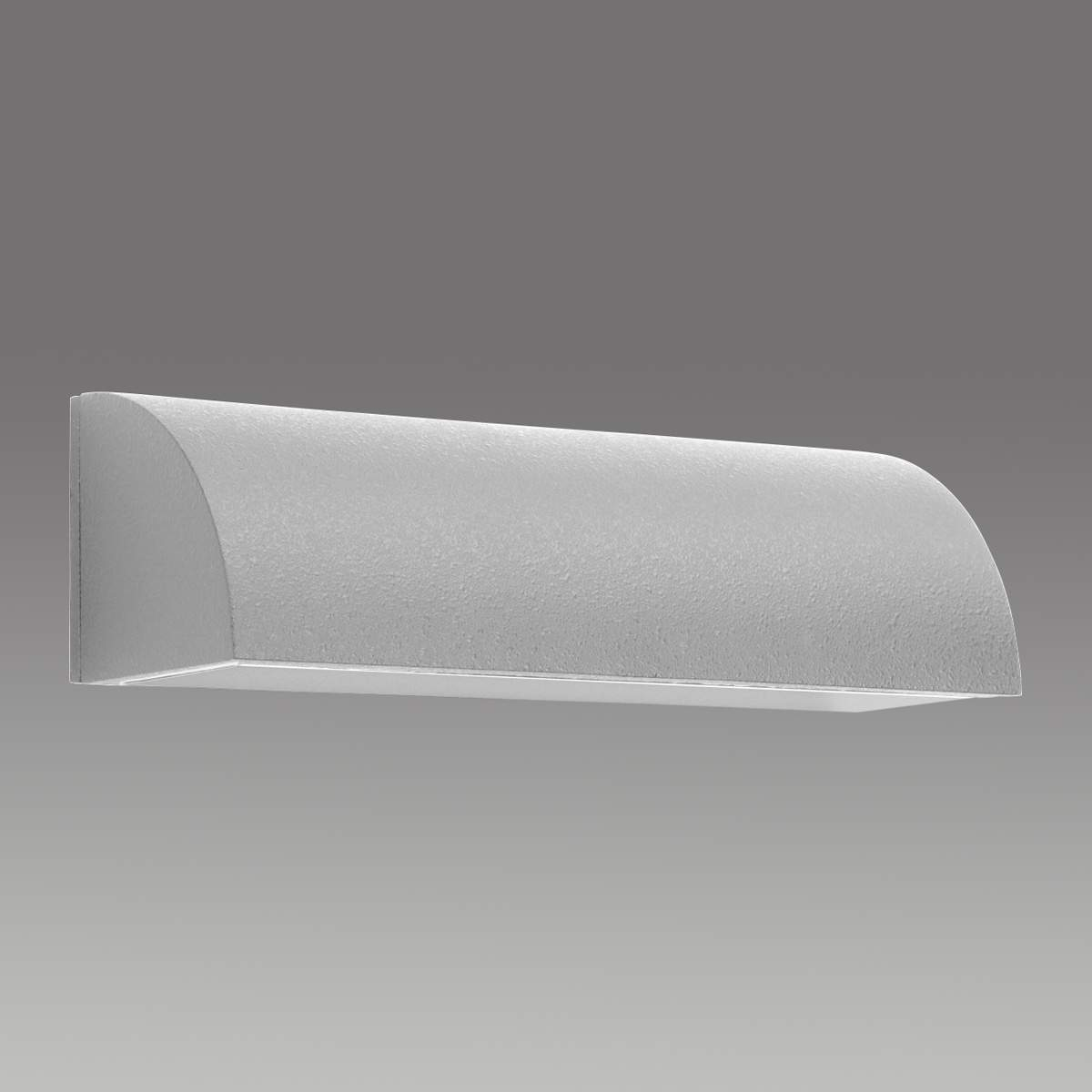 Beriwan Aluminium Wandleuchte 30 cm silber