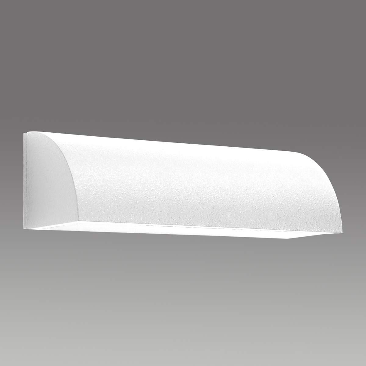 Beriwan Aluminium Wandleuchte 30 cm weiß