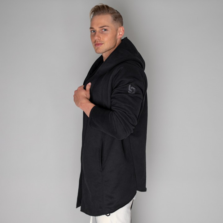 Beyond Limits Hooded Cardigan Schwarz