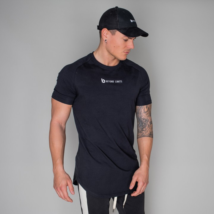 Beyond Limits Men New Standard T-Shirt Schwarz