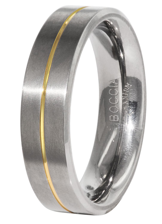 Boccia 0101-21 Titanium Herren-Ring