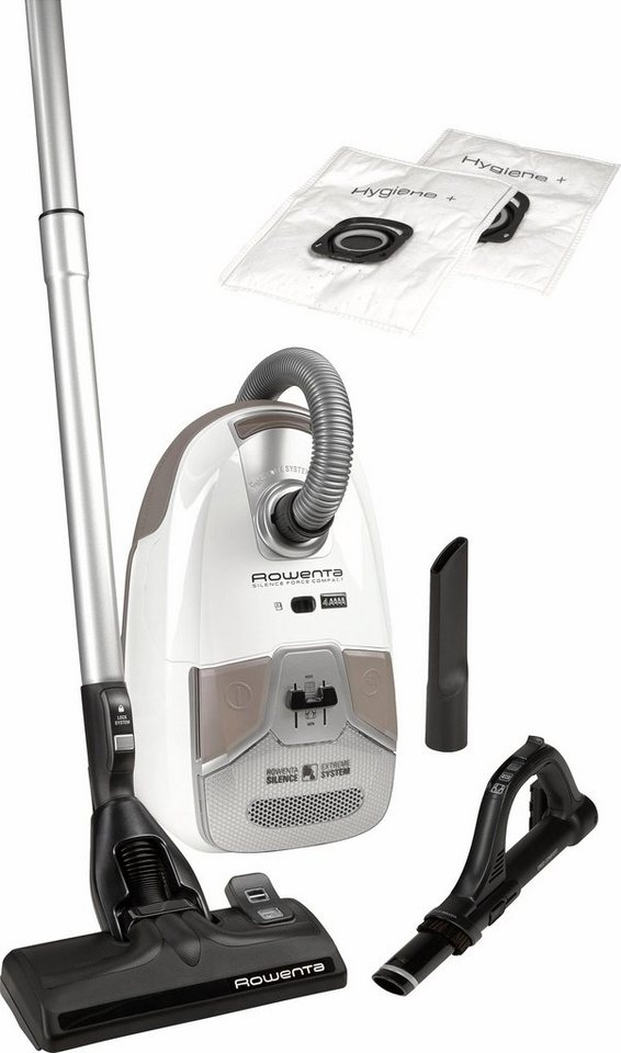 Bodenstaubsauger RO6327EA Silence Force Compact, Rowenta