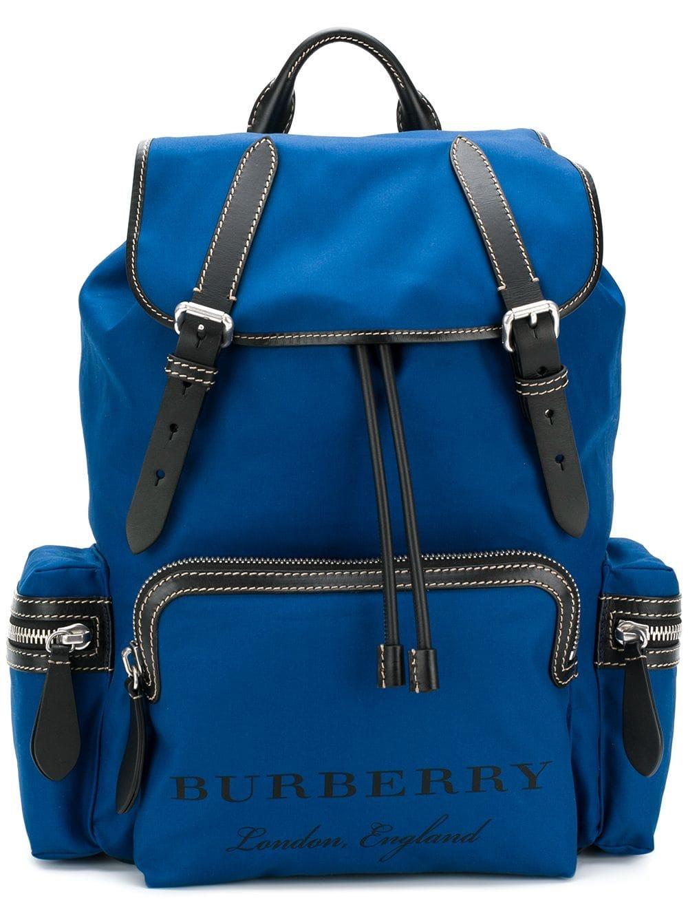 Burberry 'Rucksack' Rucksack - Blau