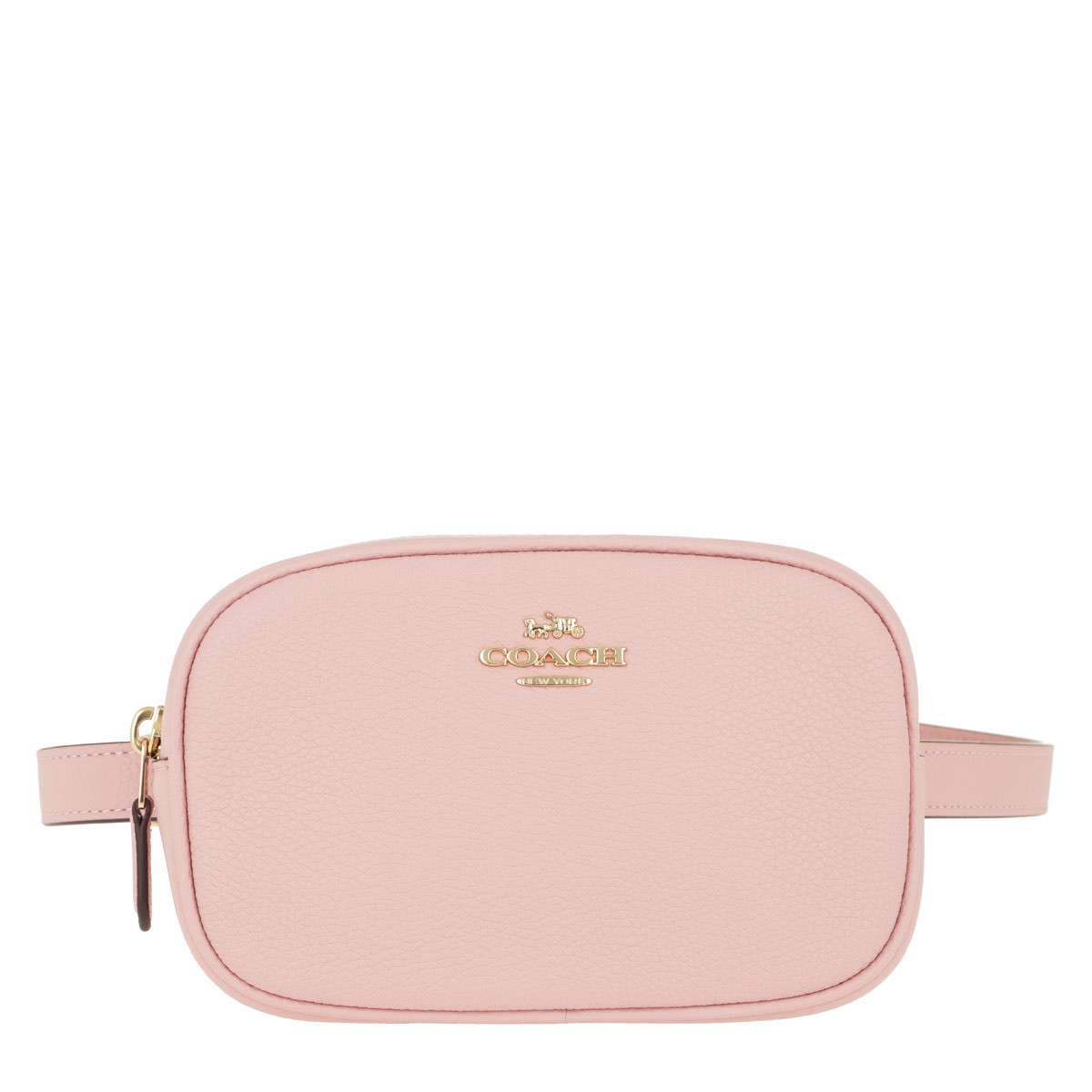 Coach Gürteltasche - Polished Pebble Dressy Belt Bag Pink - in rosa - für Damen
