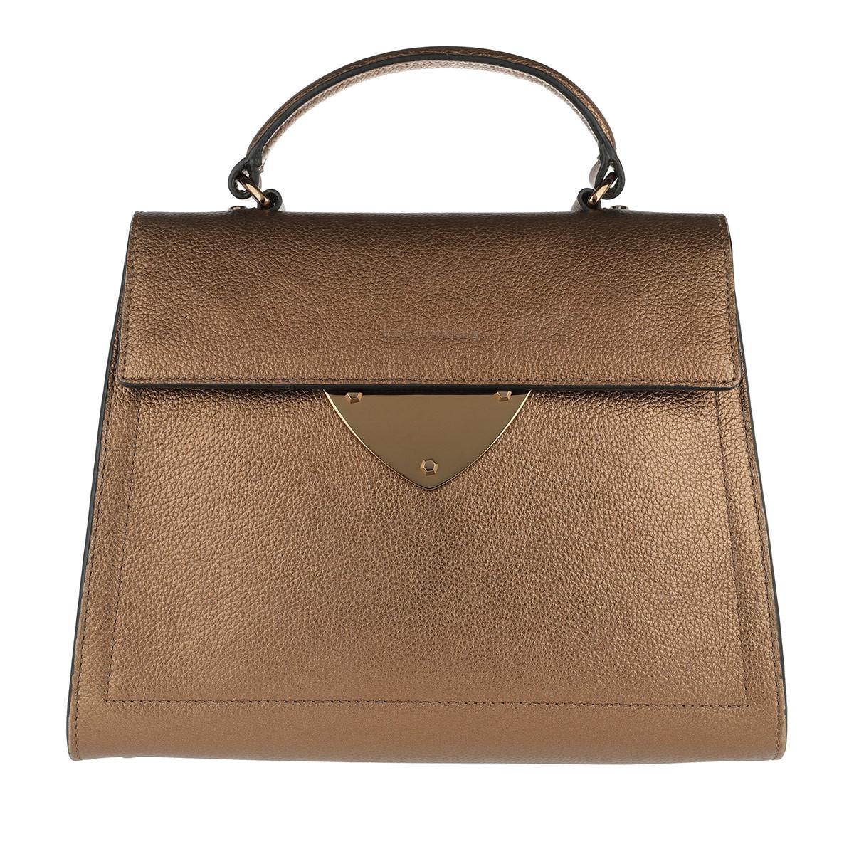 Coccinelle Satchel Bag - B14 Satchel Bag Rouille - in gold - für Damen
