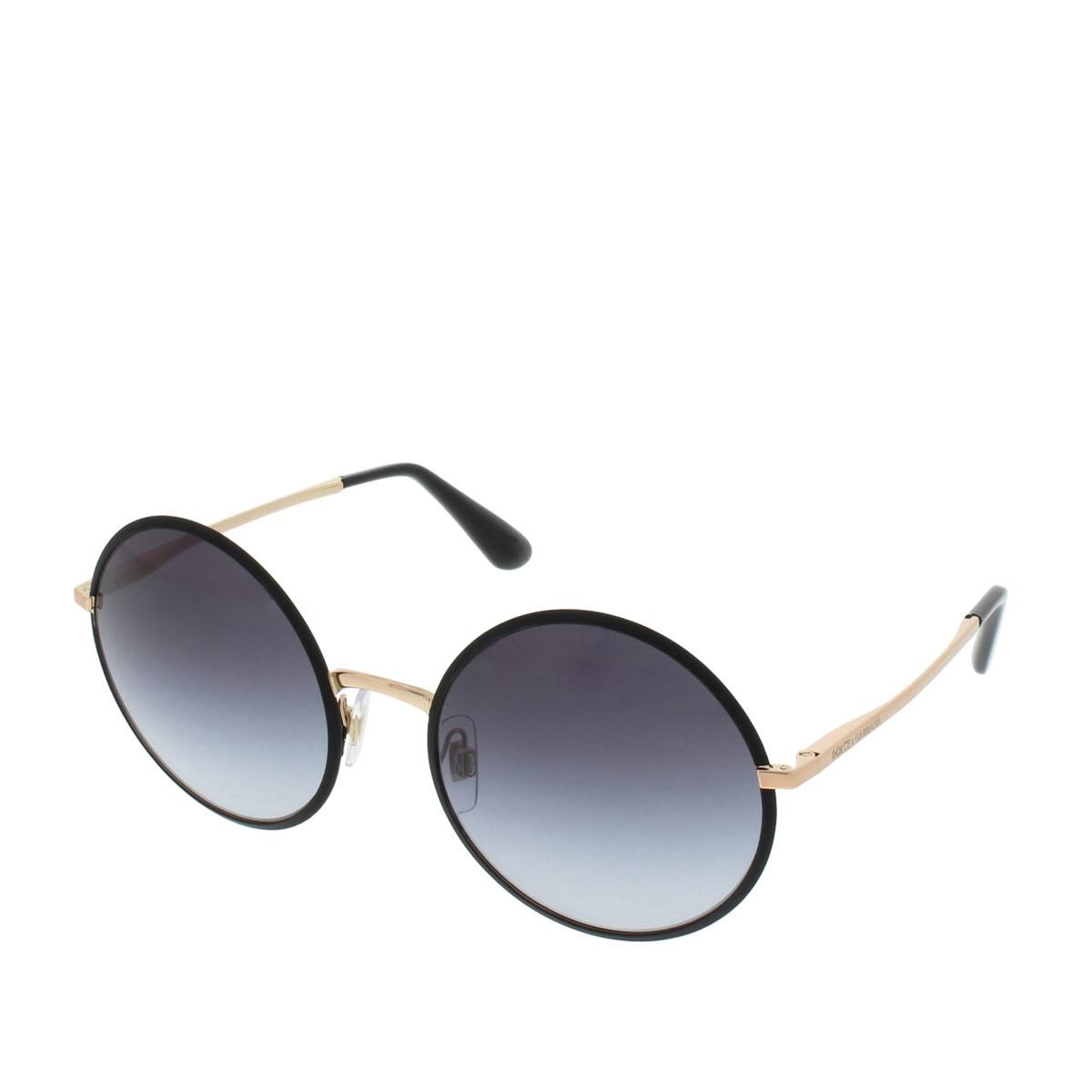 Dolce&Gabbana Sonnenbrille - DG 0DG2155 56 12968G - in schwarz - für Damen