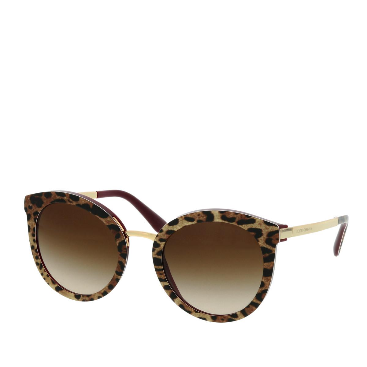 Dolce&Gabbana Sonnenbrille - DG 0DG4268 52 315513 - in braun - für Damen