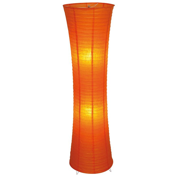 EEK A++, Himalaya Deko Stehleuchte - Orange, Näve