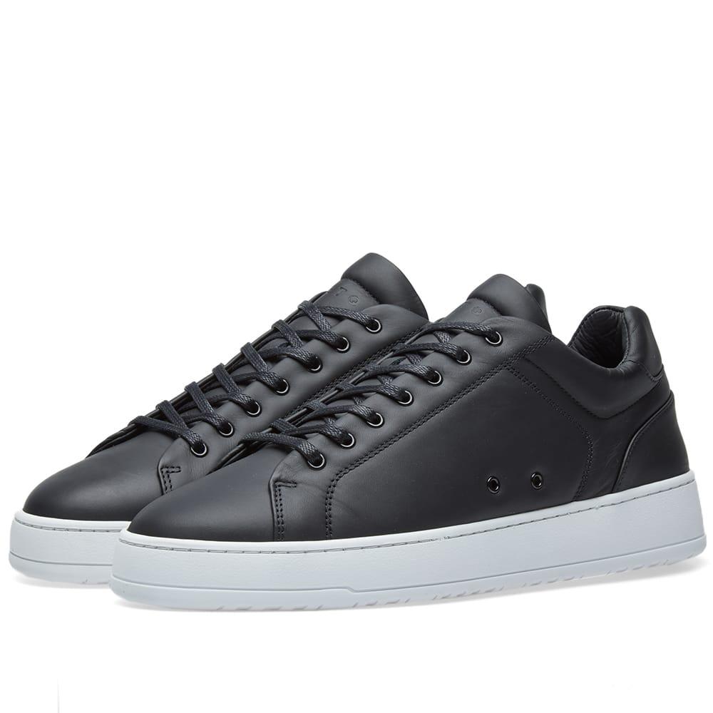 ETQ. Low Top 4 Sneaker Black