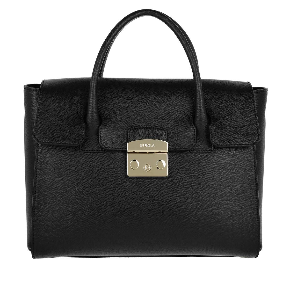 Furla Satchel Bag - Metropolis M Satchel Onyx - in schwarz - für Damen