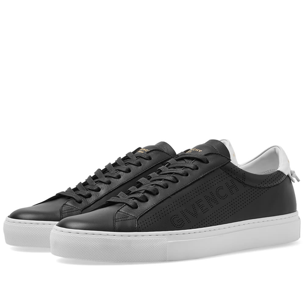 Givenchy Perforated Street Sneaker Black & White