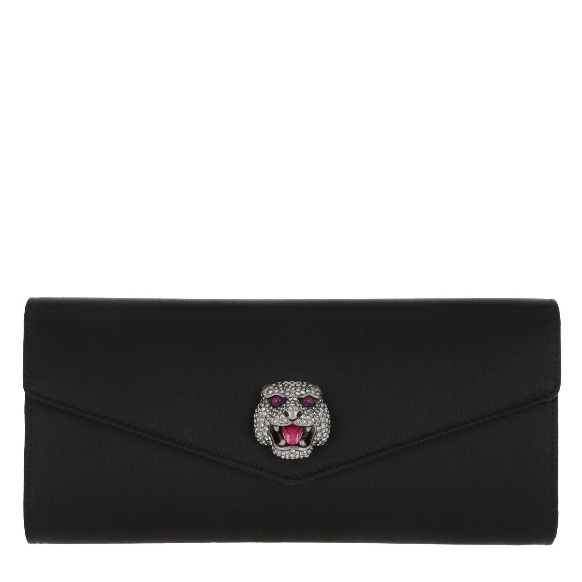 Gucci Clutch - Tiger Clutch Silver - in schwarz - für Damen