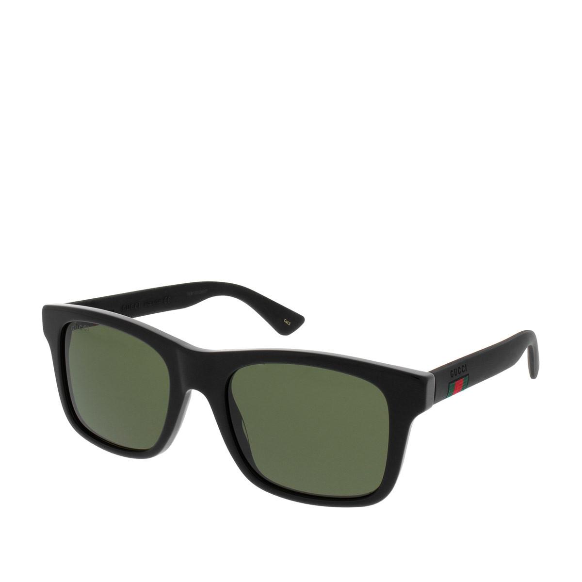 Gucci Sonnenbrille - GG0008S 001 53 - in schwarz - für Damen