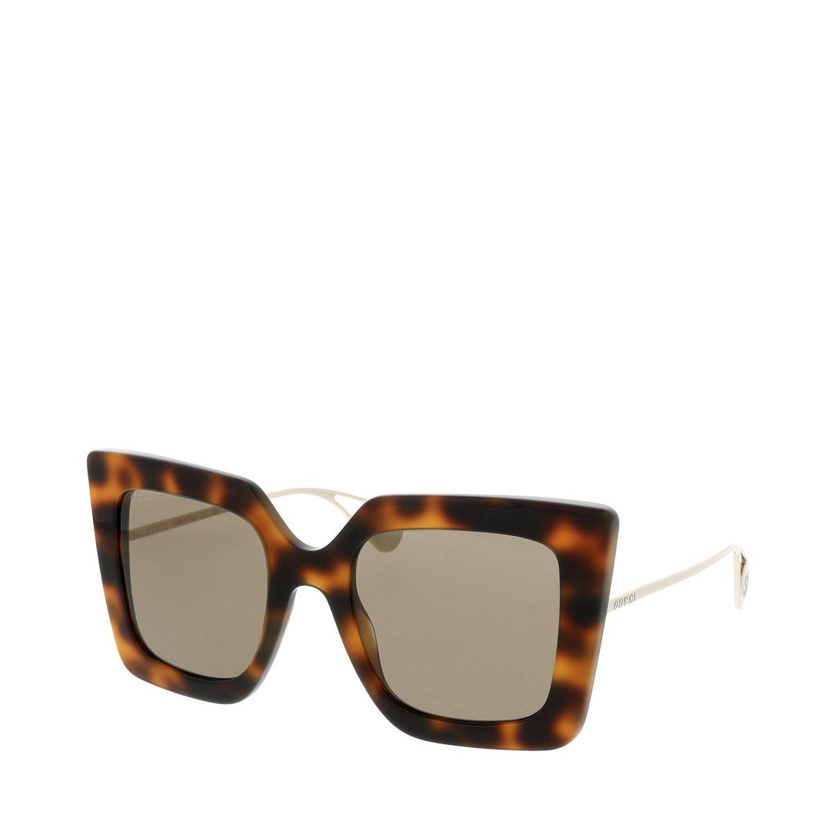 Gucci Sonnenbrille - GG0435S 51 003 - in braun - für Damen