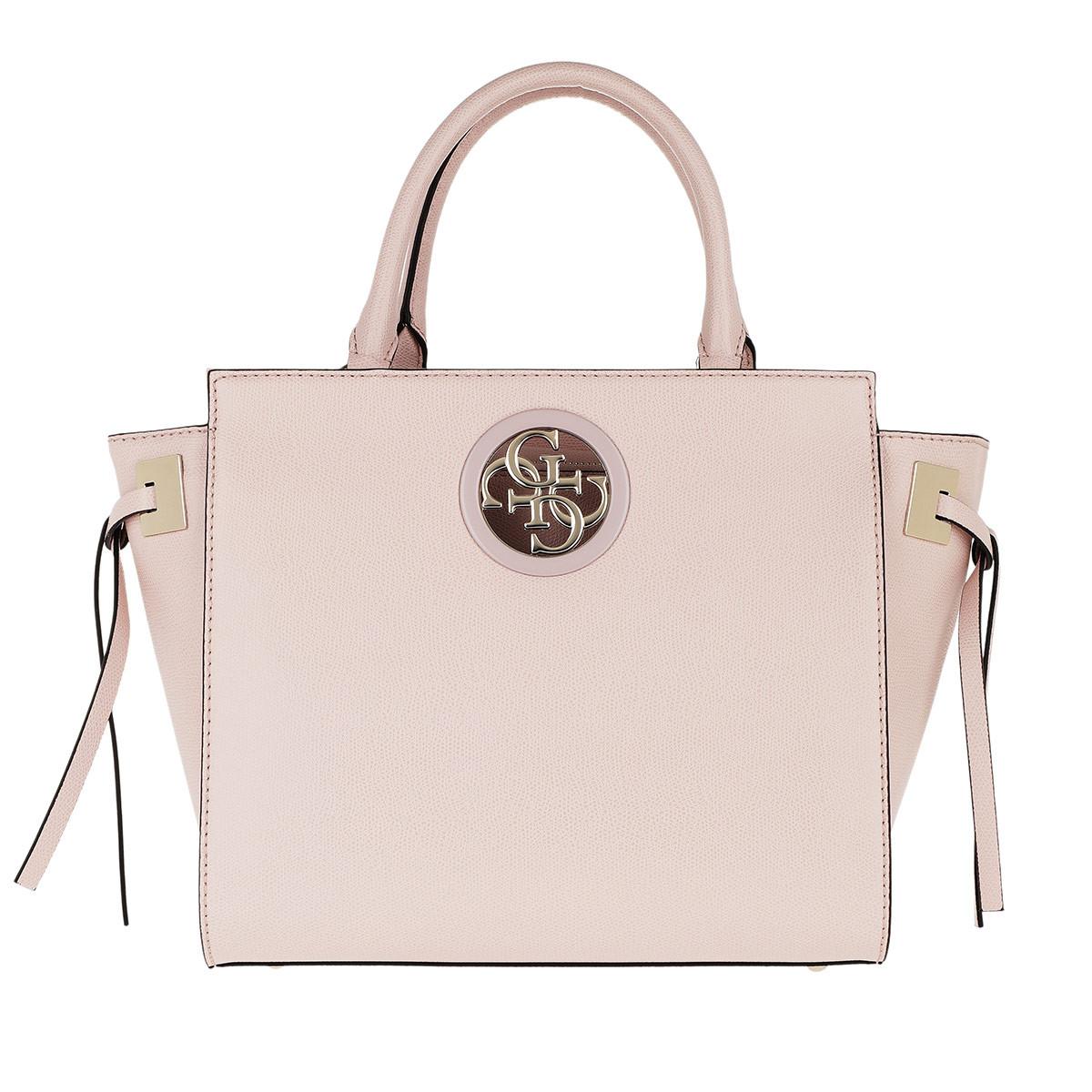 Guess Satchel Bag - Open Road Society Satchel Blush - in rosa - für Damen