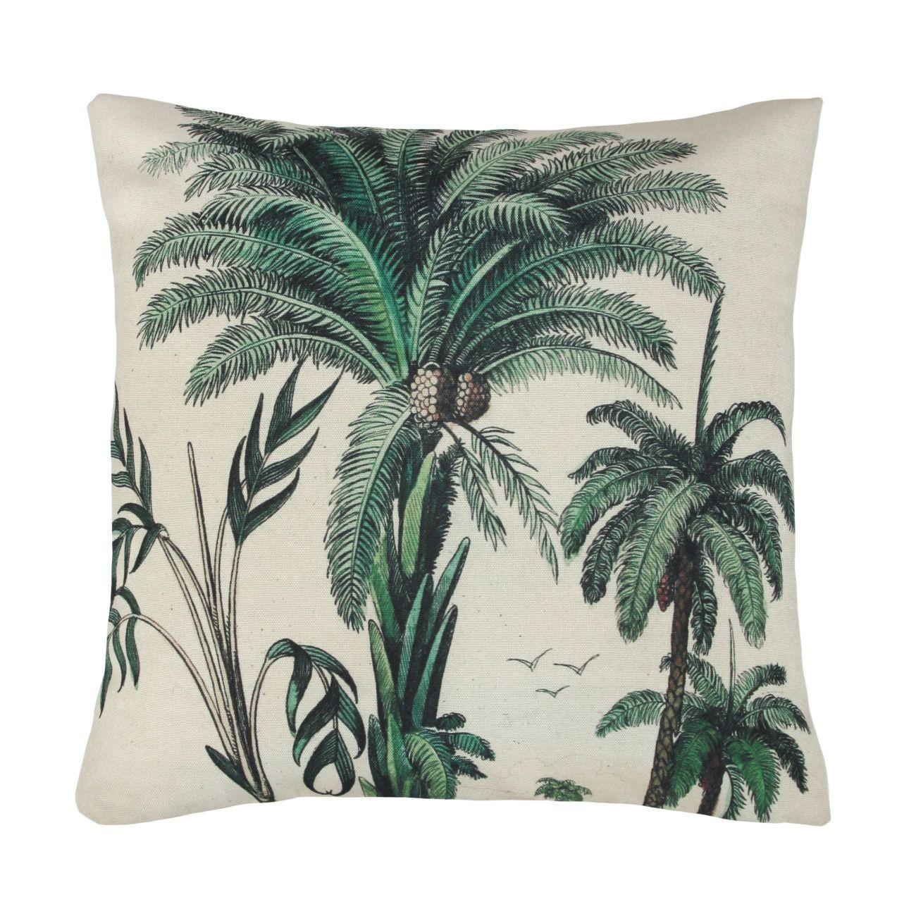 HK living Palm Trees Kissen mit Füllung