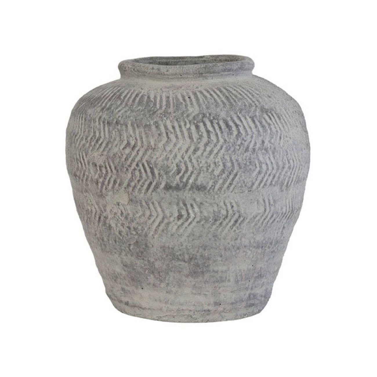HK living cement Vase Blumenvase - M
