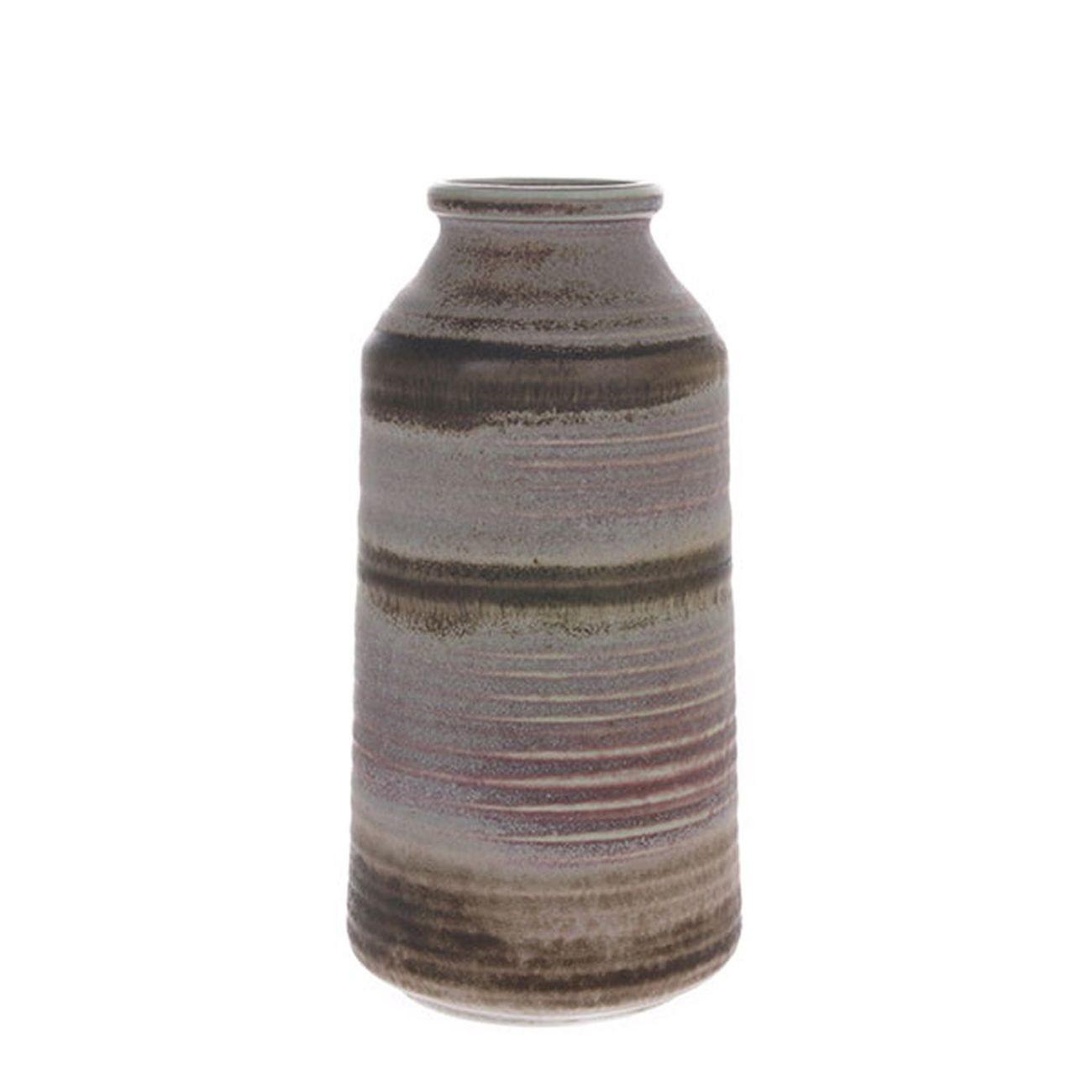 HK living ceramic Vase natural shades Blumenvase
