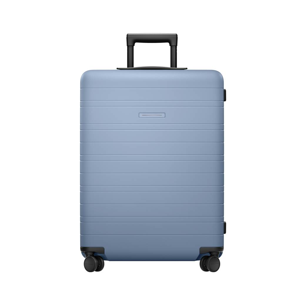 HORIZN STUDIOS H6 - Check-In Reisekoffer (65 L) / Komplett vegan (Blue Vega)