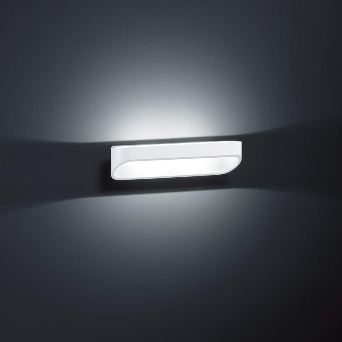 Helestra Onno - LED-Wandleuchte, 30cm, mattweiß