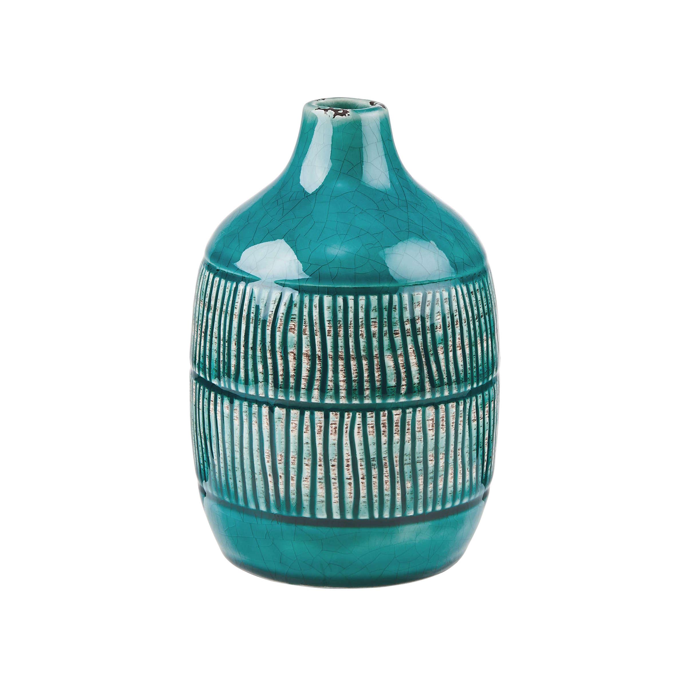 JARRON Vase Streifen 15,6 cm