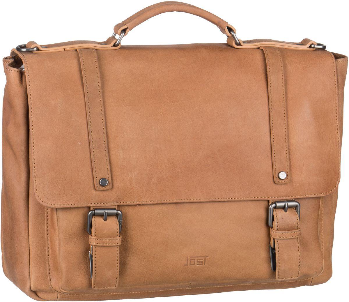 Jost Notebooktasche / Tablet Salo 4653 Businesstasche Cognac