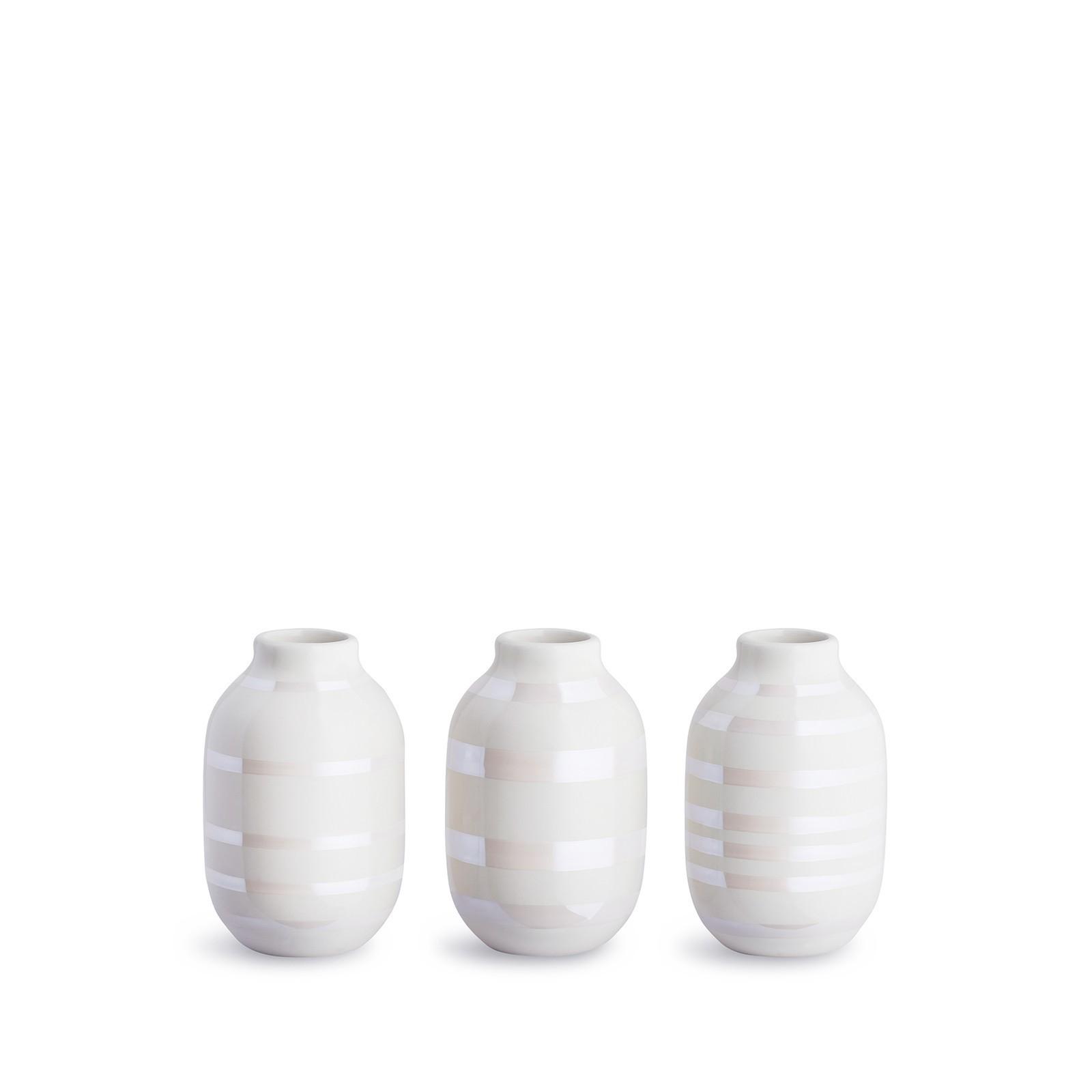 Kähler Omaggio Vasen Miniature 3er Set