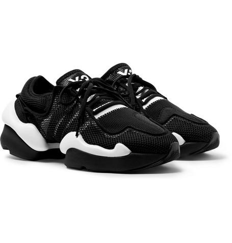 Kaiwa Pod Mesh Sneakers - Black