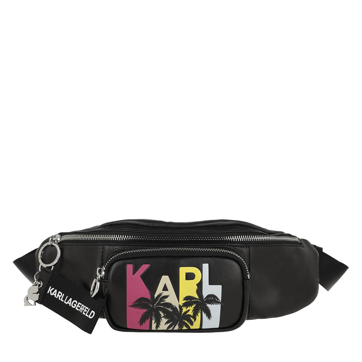 Karl Lagerfeld Gürteltasche - Karlifornia Belt Bag Black - in schwarz - für Damen