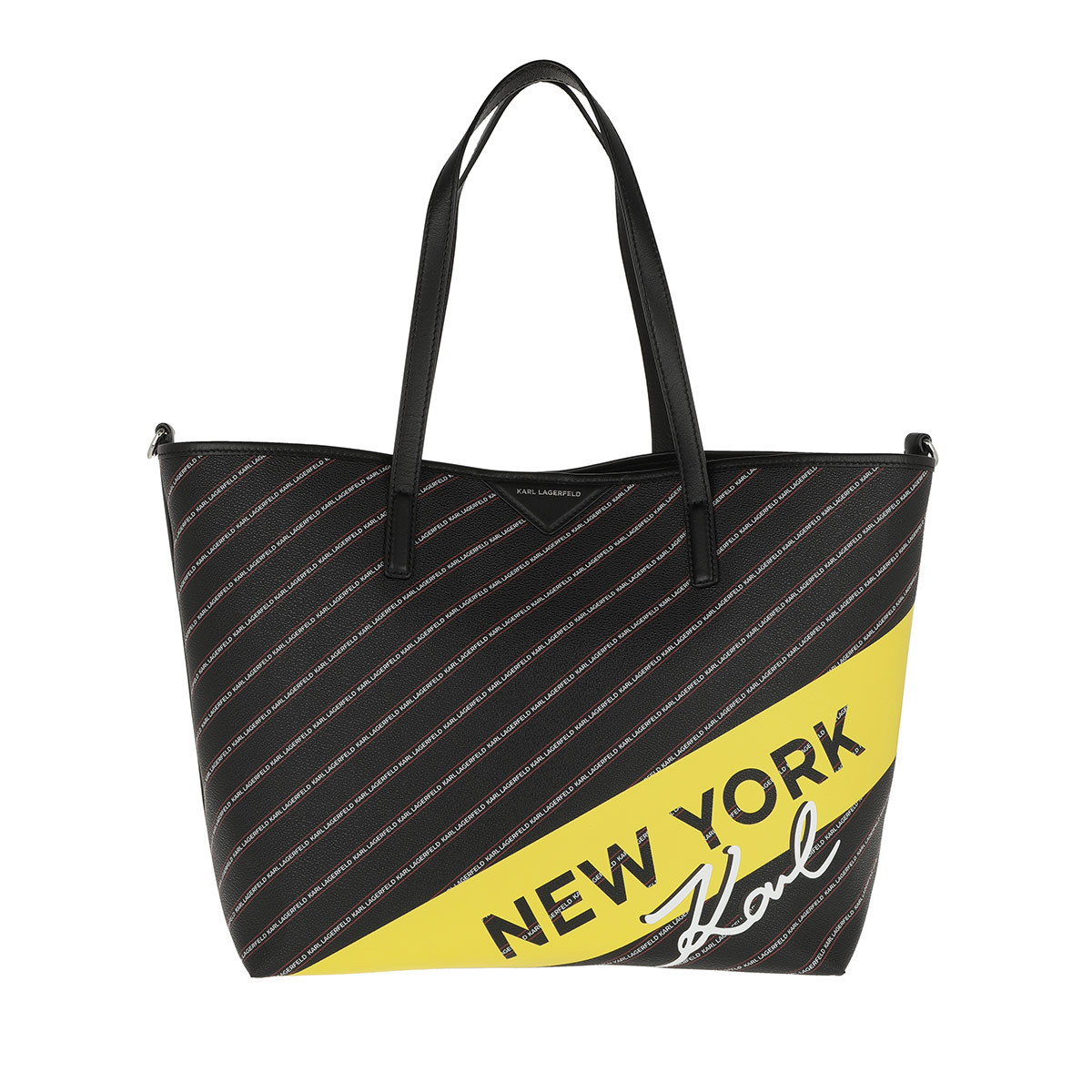 Karl Lagerfeld Shopper - K/City Shopper Ny Black - in schwarz - für Damen