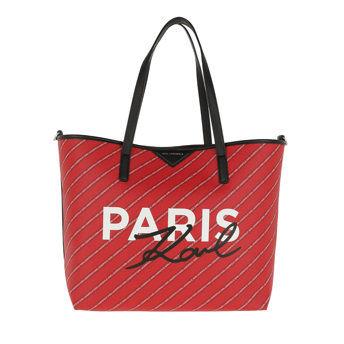 Karl Lagerfeld Shopper - K/City Shopper Paris Ruby - in rot - für Damen
